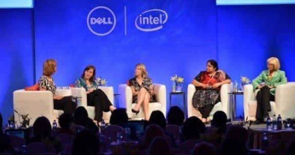 Dell Women's Entrepreneur Network Speakers in New Delhi in 2012