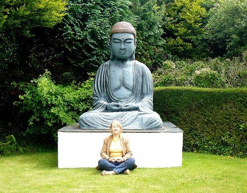 Sitting Like Buddha