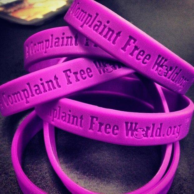 Complaint Free World Bracelets